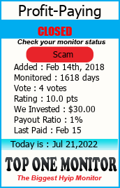 http://toponemonitor.com/?a=details&lid=1448